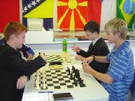 Anatoly Karpov Chess School Students