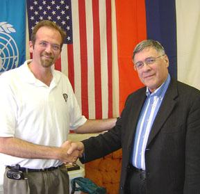 Bill Hall U.S. Chess Federation & Alexander Bah Russian Chess Federation