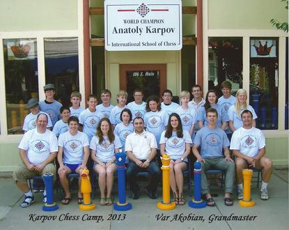 Chess Camps, Karpov Chess Camp, Var Akobian, Gabriel Purdy