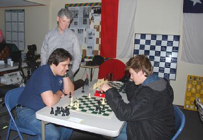 Actor Spencer Daniels at Anatoly Karpov Chess School