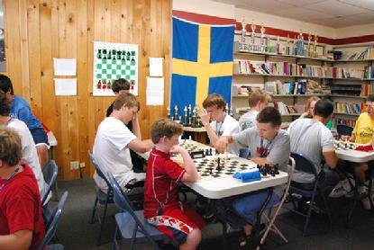 Bughouse chess at chess camps