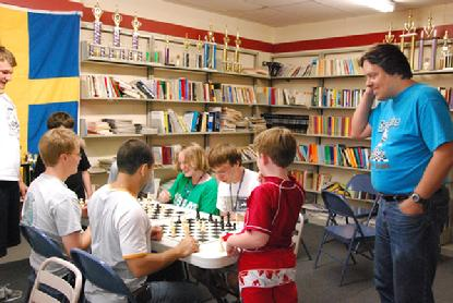 Tom Brownscombe, chess camps