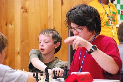 Bughouse chess at chess camp