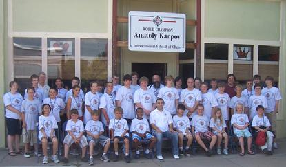 Anatoly Karpov Chess Camp in Lindsborg, Kansas