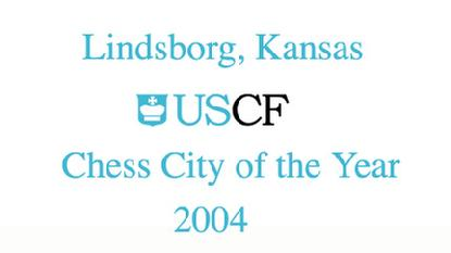 Lindsborg USCF City of the Year