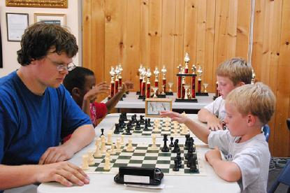 Chess Kids players chess camp