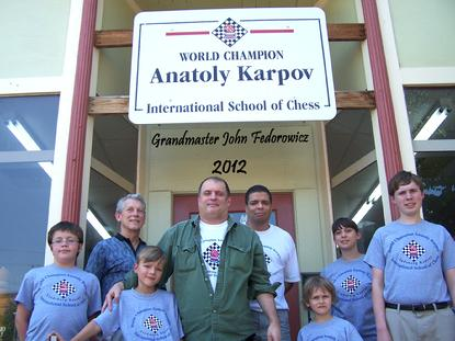 Grandmaster John Fedorowicz at Karpov Chess Camp