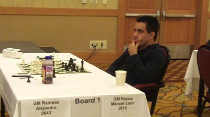 Hoyos Manuel Leon, Chess Mexico, U.S. Chess Open