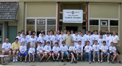 Karpov Chess Camp in Lindsborg, Kansas