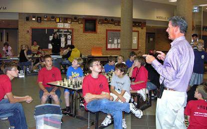 Marck Cobb President of the International Chess Institute of the Midwest, dba Anatoly Karpov Chess School