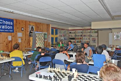 Chess Instruction at chess camps