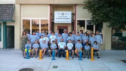 Chess camps, Karpov Chess Camp, Var Akobian, Timur Gareyev