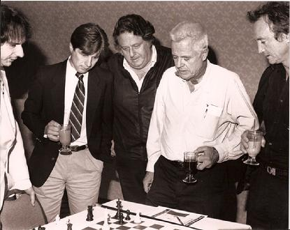Jeremy Silman, John Otrin, Lennie Weinrib, William Windom and Jesse Vint - Hollywood, CA - 1988